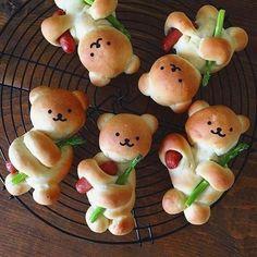 Fruit & Vegetable Bug Snacks for Envirokidz Cute Food, Good Food, Yummy Food, Baby Food Recipes, Cooking Recipes, Cooking Ideas, Bread Shaping, Snacks Für Party, Bug Snacks