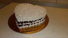 Penová torta - prvý a asi aj posledný pokus Cake, Desserts, Food, Youtube, Tailgate Desserts, Deserts, Kuchen, Essen, Postres