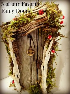 Top 5 Favorite Fairy Doors