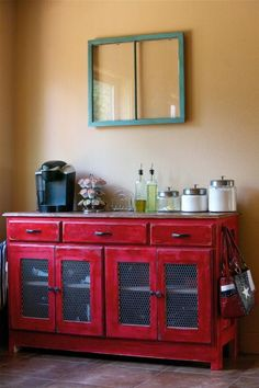 Buffet Table | Do It Yourself Home Projects from Ana- White.com - (Brian: this could go behind the sectional and we could store stuff for kitchen or file things I.e.mail/to do stuff.)