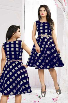 Party Wear Modal Chanderi New Special Wear Black Color Western Skirt  KZPU 5-2 #Unbranded #Gown #Casual Western Gown, Western Wear, Indian Party Wear, Girls Wear, Wearing Black, Kurti, Casual Wear, Beautiful Dresses, Fancy