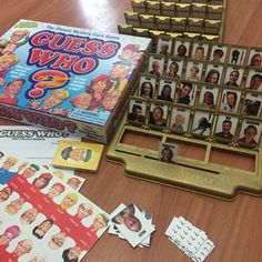 Custom Guess Who Game. Guess It Game. by ButterMakesMeHappy