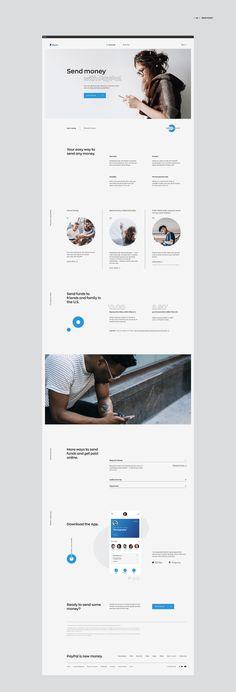 Search   Behance 上的照片、视频、徽标、插图和品牌 Minimal Website Design, Corporate Website Design, Corporate Design, Web Layout, Website Layout, Layout Design, Grid Design, Page Design, Ecommerce Template