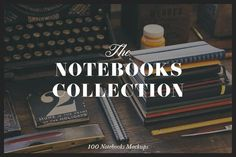 Graphic Design - Graphic Design Ideas  - The Notebooks Bundle by Madebyvadim on Creative Market   Graphic Design Ideas :     – Picture :     – Description  The Notebooks Bundle by Madebyvadim on Creative Market  -Read More –