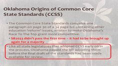 "Jenni White ""Common Core State Standards: History and Fact"""