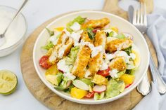 Holiday Crafts For Kids, Crafts For Kids To Make, Salad Bar, Cobb Salad, Enchiladas, Salad Recipes, Healthy Recipes, Pasta, Salad Dressing