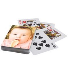 Personalized Custom Playing Cards Single Design  by TheNetMarket