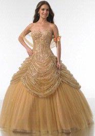 Belle inspired wedding dress!