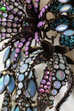 KONPLOTT Halskette Collier ALIEN ANEMONE blue/green | eBay