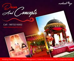 With years of experience in wedding planning, Naked Eye has become one of the best wedding planners in India. Contact us for perfect execution of your big day. Best Wedding Planner, Wedding Planning, Looking For Marriage, Big Day, Wedding Decorations, Eyes, Wedding Decor, Cat Eyes