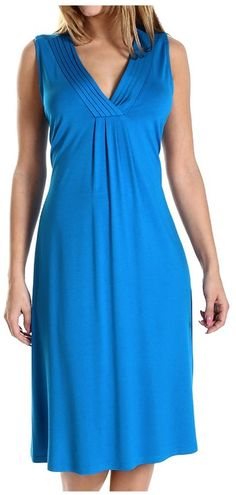 Rosch Creative Culture Rosch Pleated V-Neck Dress - Sleeveless (For Women)  https://api.shopstyle.com/action/apiVisitRetailer?id=460063203&pid=uid8721-33958689-52