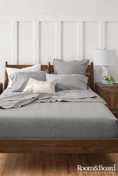Create the bedroom of your dreams with our modern beds, nightstands, bedding and bedroom accessories.
