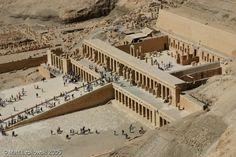 Egitto- Tempio di Hatshepsut