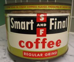 Smart And Final Coffee