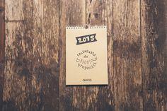 Calendario 2015 dei Buoni Propositi da muro : Calendari di aucacreativeshop