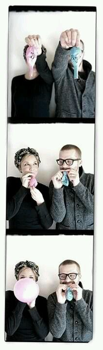 Gender announcement omg Brookie you guys have to do this how cute! lol