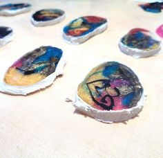 I LOVE RESIN: Multi Color Resin Swirl Baubles - Part One