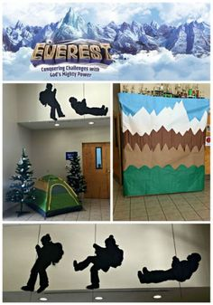 Group Everest VBS Decorating -