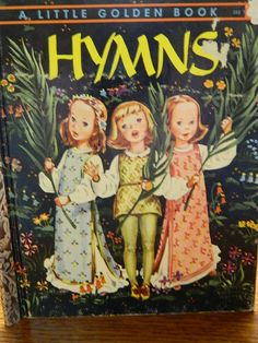 1947 Vintage Golden Book Hymns Collected by by TheIDconnection, $10.00