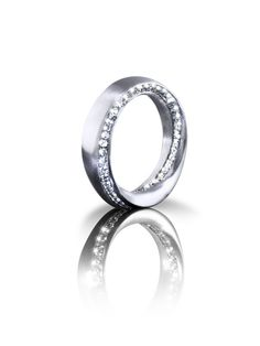 best of Evolute®: unique ring Malva Starlight made by Edel + Metall Munich