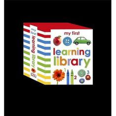 My First Learning Library — A perfect collection to encourage your child's developing mind and help them learn essential first steps. This slipcase includes My First Word, My First ABC, and My First Number. Each book is packed with bright, bold photographs and clear word labels to encourage early learning.