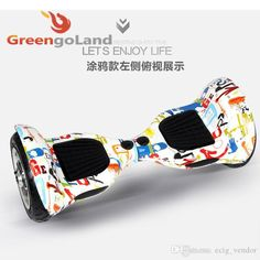 Self balance unicycle scooter 10 Inch tire mini Smart Self Balancing scooter Electric unicycle with led two wheel skateboard electric