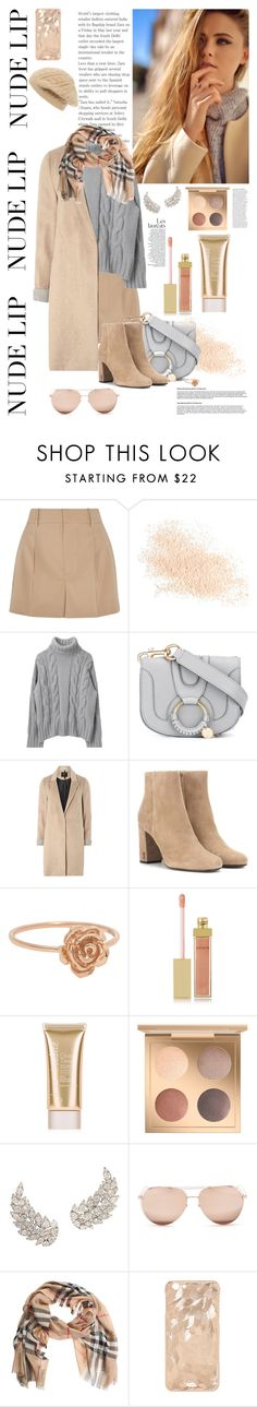 """""""Senza titolo #5694"""" by waikiki24 ❤ liked on Polyvore featuring beauty, Chloé, Eve Lom, See by Chloé, mel, Yves Saint Laurent, AERIN, Jane Iredale, Linda Farrow and Burberry"""