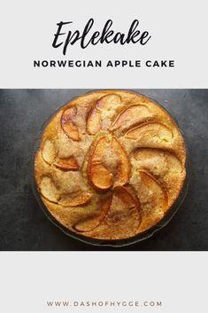 Norwegian Food, Norwegian Recipes, Nordic Recipe, Great Recipes, Favorite Recipes, Apple Cake Recipes, Dessert Recipes, Danish Food, Food Reviews