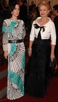 CH con su hija Patricia.