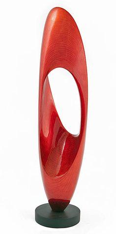 """""""Shell"""" Modern Wood Sculpture, Stohans Showcase"""