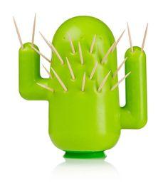 Cactus Toothpick Holder Set Of 2 Design Inspiration On Fab Jen Walker Unique Kitchen Items