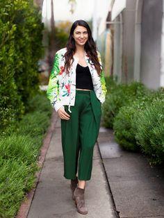 Tropical Print: Shiva Rose, anti-GMO activist and blogger, The Local Rose