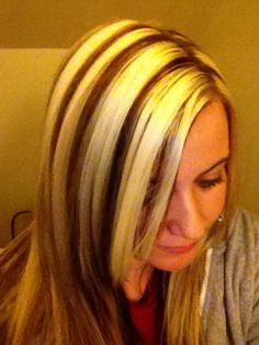 images about Hair color on Pinterest | Chunky blonde highlights, Hair ...