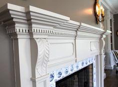 Federal Mantel - traditional - living room - dallas - Hull Historical