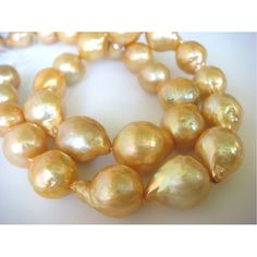 Natural Baroque Pearls  Natural Baroque Salt by gemsforjewels