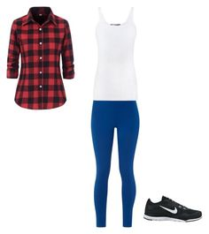 """""""Untitled #21"""" by raine-mcwaters ❤ liked on Polyvore featuring White Stuff, Vince and NIKE"""