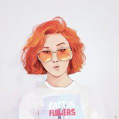 Life is a blank canvas. Mamamoo, Kpop Drawings, Art Drawings, K Pop, Kpop Fanart, Rainbow Bridge, Anime, Art Sketchbook, Art Inspo