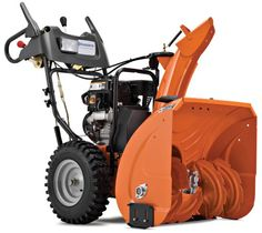 #Husqvarna 924HV 24-Inch 208cc SnowKing Gas Powered Two Stage Snow Thrower With Electric Start