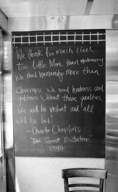 #CharlesChaplin #quote
