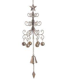Look at this #zulilyfind! Christmas Tree Wind Chime #zulilyfinds