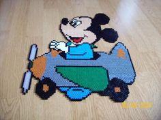 Baby Mickey hama beads by memedine77165