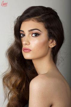 Beautiful eyeliner makeup from London Makeup Institute students #eyeliner #makeup
