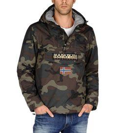 Shop Men for Men today at Napapijri. the official Napapijri online store. New Model, Shirt Style, Military Jacket, Rain Jacket, Windbreaker, Fancy, Man Shop, Hoodies, Womens Fashion
