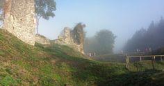Le château médiéval de Montfort-sur-Risle