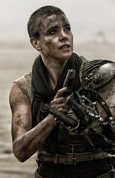 Still of Charlize Theron in Mad Max: Fury Road (2015)