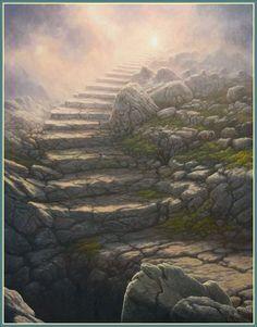 Stairway To Heaven by Tomasz Alen Kopera
