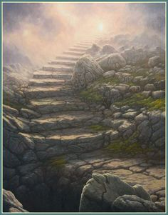 Stairway To Heaven by Tomasz Alen Kopera