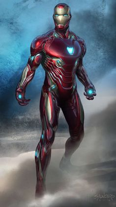 Mark 50 Iron Man Endgame Wallpaper - iPhone Wallpapers