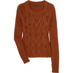 marc jacobs this looks a lot like a knit dress i have, and also like the sweater i want to knit myself from quince & co. lark in gingerbread