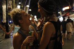 lazbian girls in barcellona